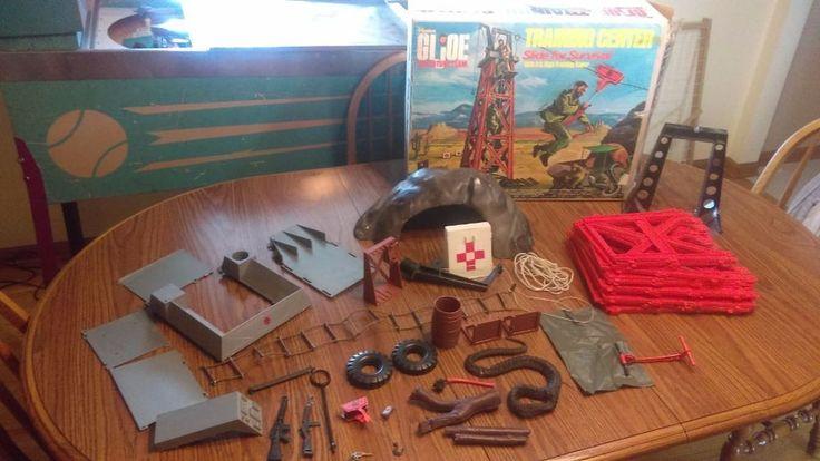 Vintage 1973 GI Joe Adventure Team Training Center Boxed With Accessories #Hasbro