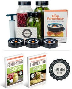 Perfect Holiday Gift for anyone interested in fermentation.  Comes with access to tons