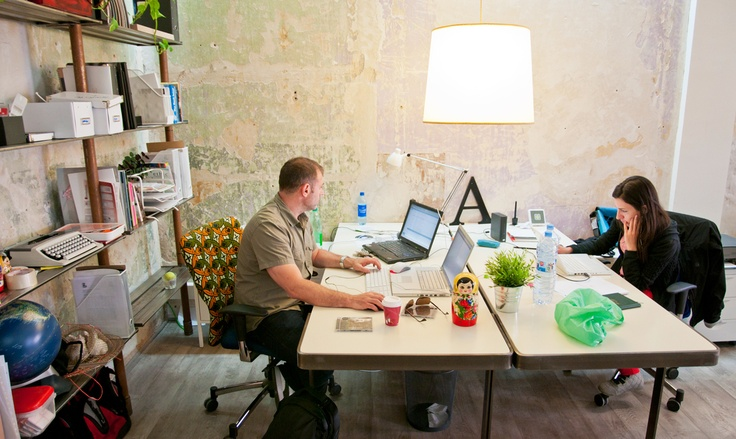 DCOLLAB - A Coworking Space in Madrid