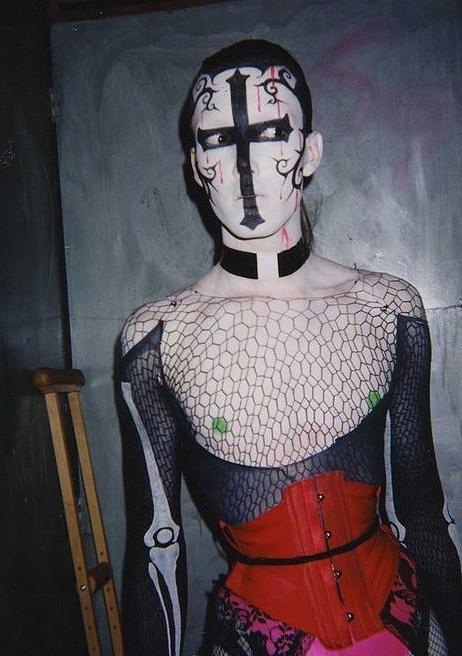 nyc club kids originals kabuki starshine originally pinned by rokstarroadcom - Halloween For Kids In Nyc