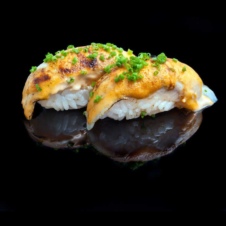 Sea bass with spicy mayonnaise and chives / browned sea bass with spicy mayonnaise & chives
