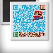 There's an excellent online QR generator at qrhacker.com that lets you create colorful QR codes and what makes this tool different is that it provides you can option to embed photographs and logo images to your QR codes. You can even edit the colors of individual pixels that form the code.