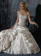 Ambrosia - by Maggie Sottero. The brides choice for a perfect wedding dress with minor changes.