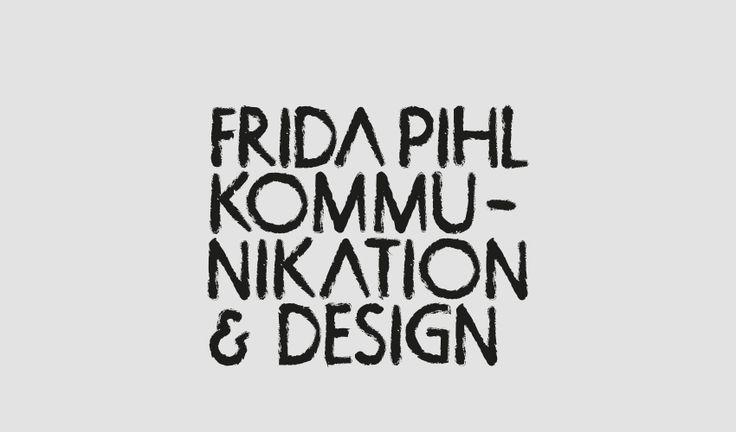 Logga Frida Pihl Kommunikation & Design av fridapihl.se