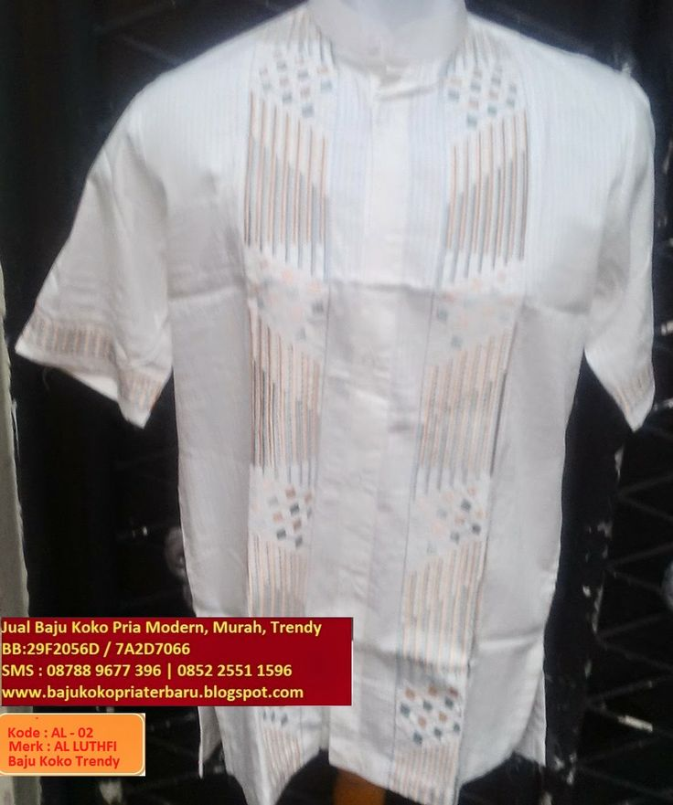 Jual Baju Koko Pria Modern Murah Trendy, BB :29F2056D | 7A2D7066 |SMS:08788-9677-396 | 0852-25511596: Baju Koko Pria Trendy ( AL - 02 ) Warna Putih Cora...