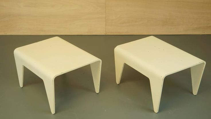 Pair of Vintage Marcel Breuer for Isokon Tables or Side Tables 1936