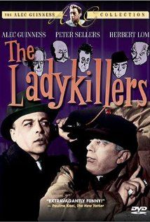 The Lady Killers with Alec Guinness, Herbert Lom & Peter Sellers, and Katie Johnson as Mrs. Lopsided <3