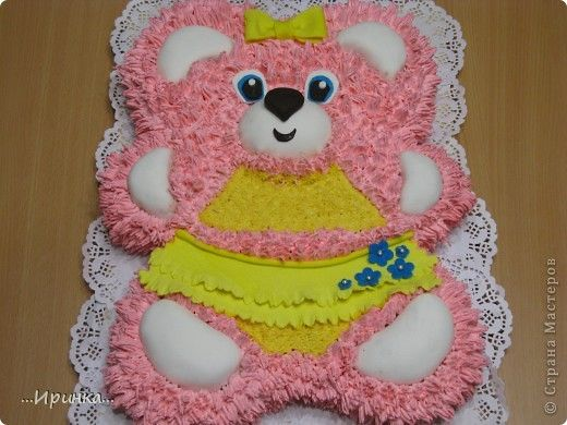 торт в виде мишки фото   Foto-Tur