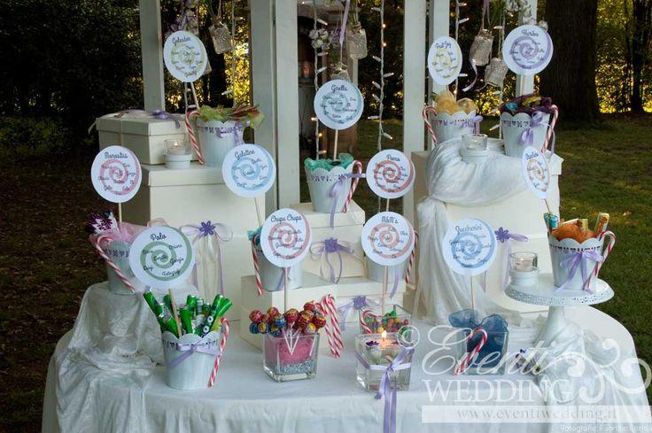 Caramelle e tante dolcezze per il Tableu mariage