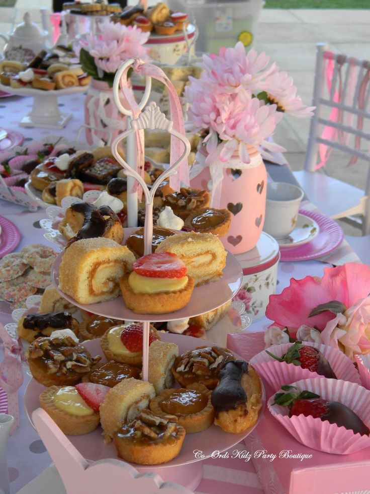 Vintage High Tea Party for Little Ladies with a touch of Unicorn by Co-Ords Kidz Party Boutique