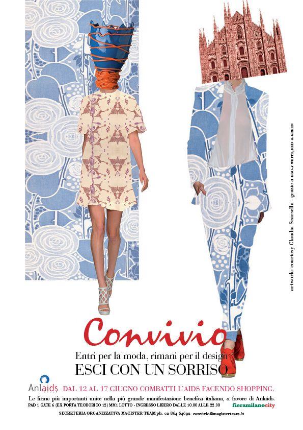 Claudia Scarsella per CONVIVIO collage #conviviomi14