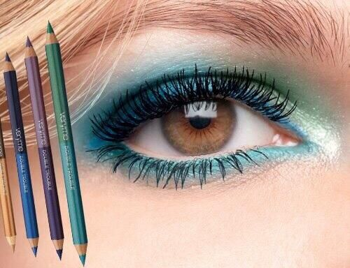 Very Me Double Trouble Eyeliner -  Turn up the heat with double the colour in one pencil for the hottest looks. Perfect for lining your inner lash line. Five new colour combos for ultra dazzle. Only from #Oriflame Cosmetics, Order line 08033818007