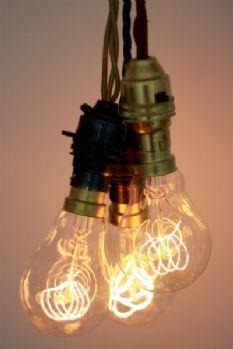 Light Bulb - Quad Loop Filament - Screw Fitting - 40W & 44 best Low lighting over dinner images on Pinterest   Light ...
