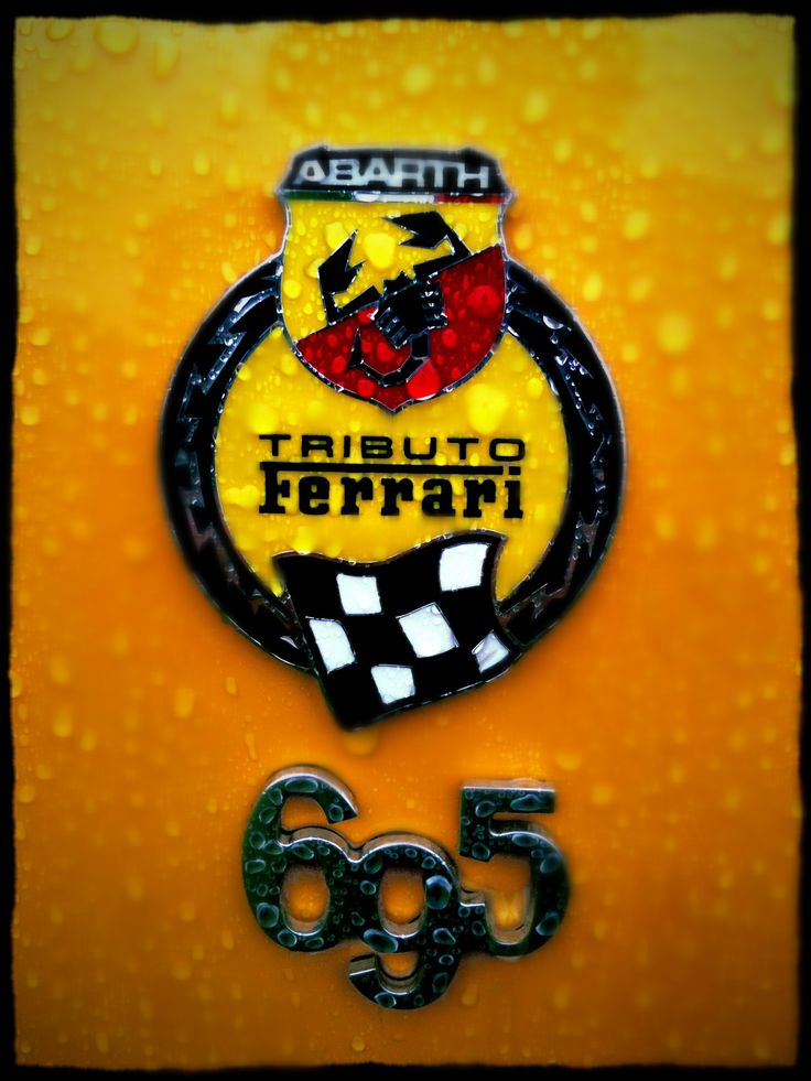 695 Tributo Ferrari in wet yellow ;)