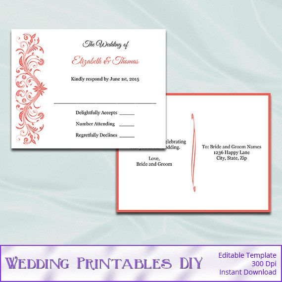 790 Best Wedding Templates Images On Pinterest Wedding Templates   Postcard  Format Template  Postcard Format Template