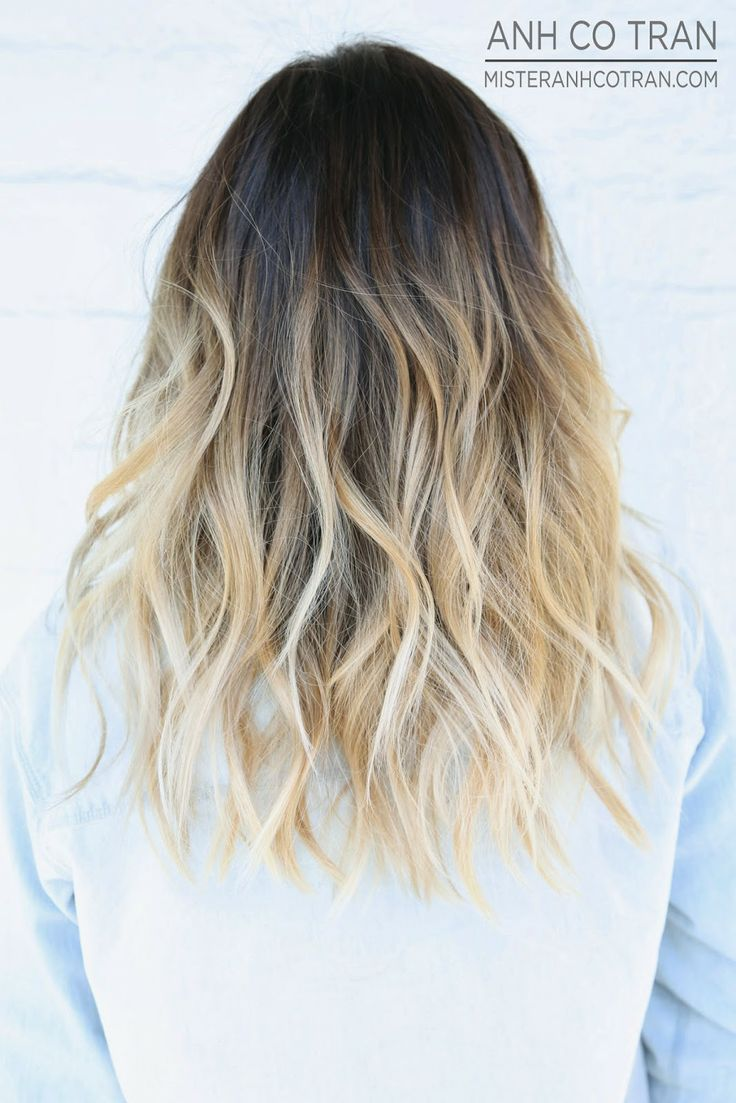 LA: GORGEOUS LONG FLOWING HAIR. Cut/Style: Anh Co Tran. Appointment inquiries please call Ramirez|Tran Salon in Beverly Hills: 310.724.8167