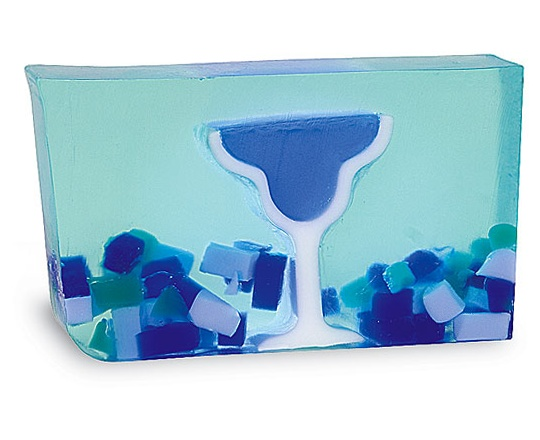KM Gifts - Blue Margarita Bar Soap, $8.00