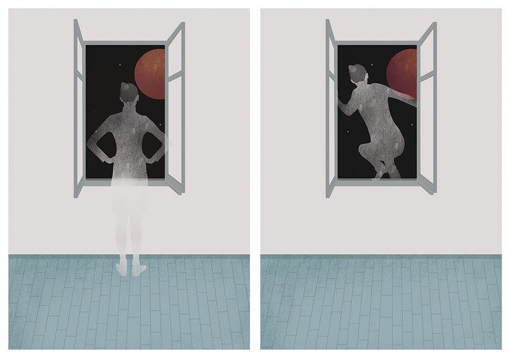 Killing Moon illustration on Behance