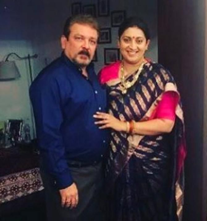 Smriti Irani Shares A Beautiful Bond With Her Step-Daughter Shanelle Irani - BollywoodShaadis.com