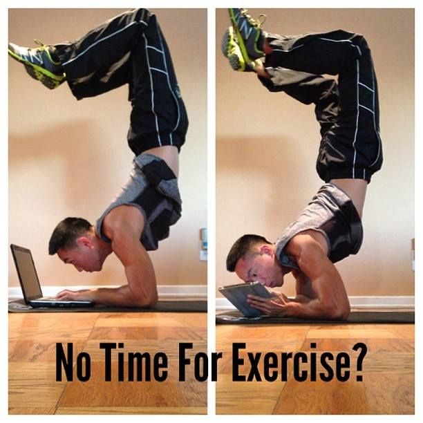 Image result for too busy to exercise
