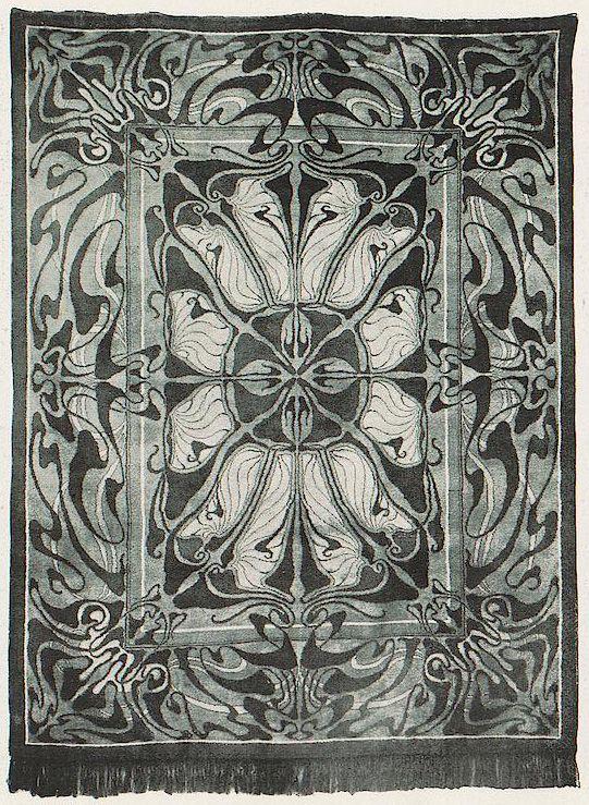 The Textile Blog: The Art Nouveau Carpets of Paul Horti