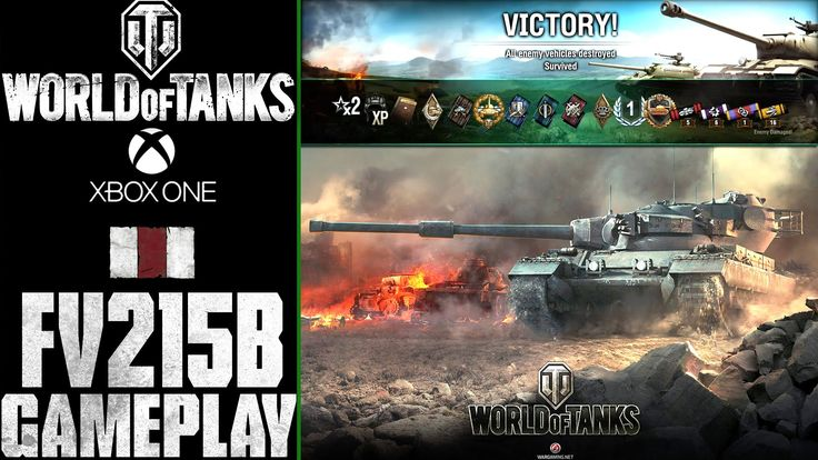 World of Tanks Xbox One: FV215b |  Gameplay