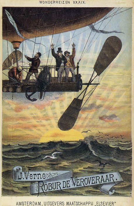 Jules Verne - Robur de Veroveraar