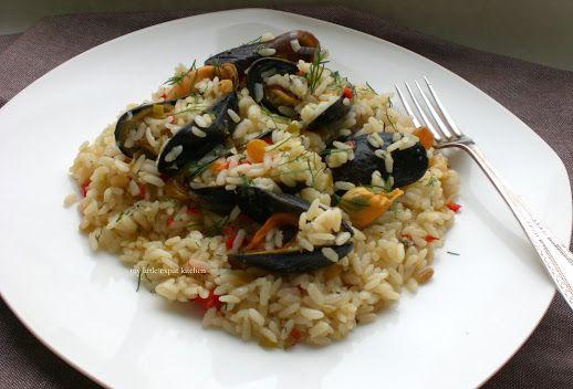 Greek Mussels Pilaf Recipe
