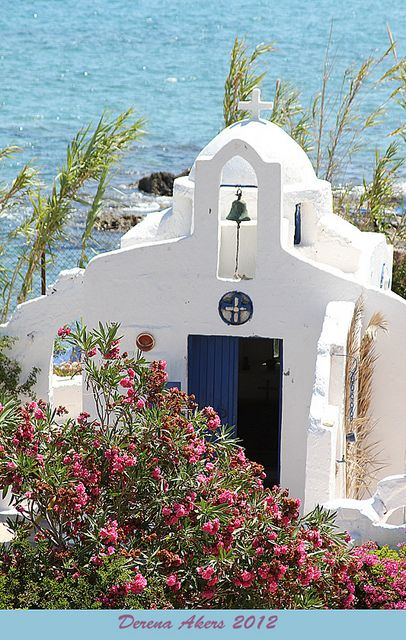 Chapel in Hersonissos, Crete, Greece
