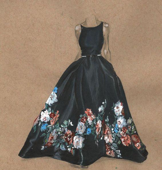 vintage dress sketches designs wwwpixsharkcom images