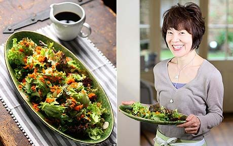 Superstar cookery writer Harumi Kurihara is now creating simple recipes for   Western palates.