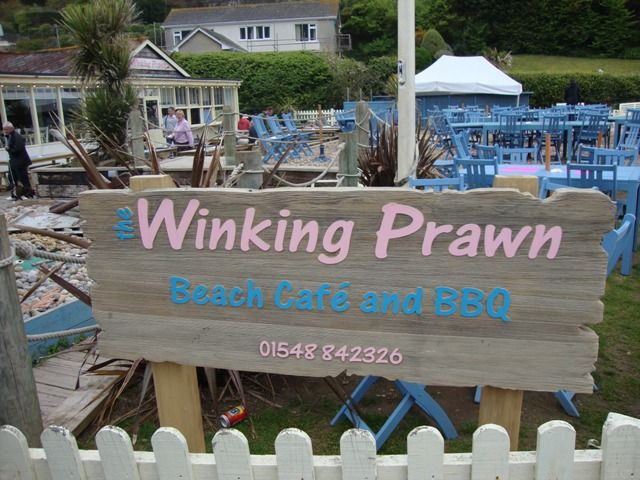 The Winking Prawn in Salcombe, Devon, United Kingdom