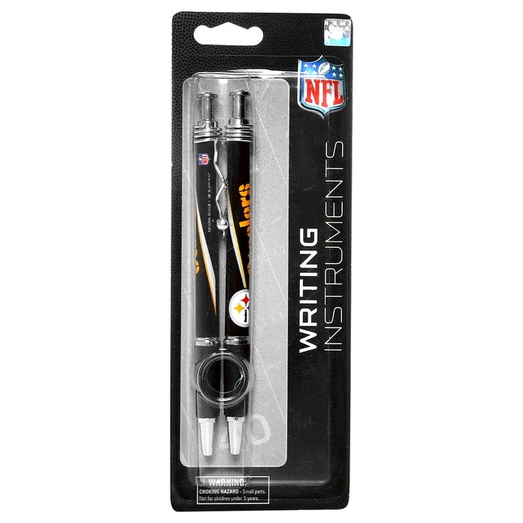 Pluma NFL Pittsburgh Steelers 2 Pack - Tienda NFL
