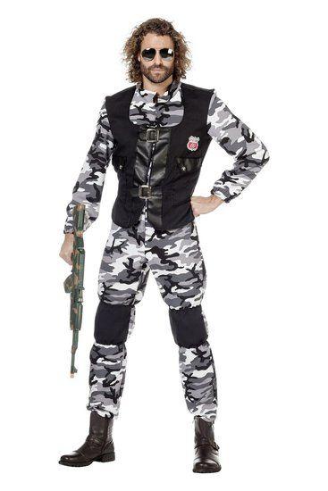 Kostuum Leger Combat Zone - De Kaborij