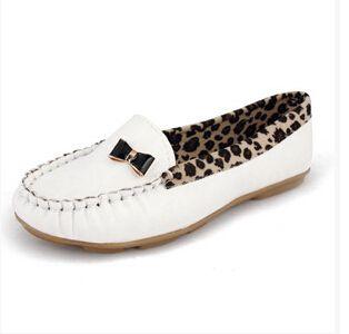 hete verkoop flats voor vrouwen platte hak schoenen mode luipaard flats vrouwen schoenen 2014 5 kleur gratis verzending in productbeschrijving100% gloednieuwe.5 kleur voor uw keus: roze, zwart, blauw, van boot schoenen op AliExpress.com | Alibaba Groep