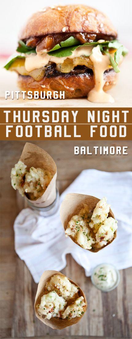 Thursday Night Football Foods: Pittsburgh vs. Baltimore