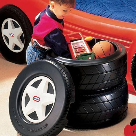Classic Racing Tire Toy Chest                                                                                                                                                                                 More