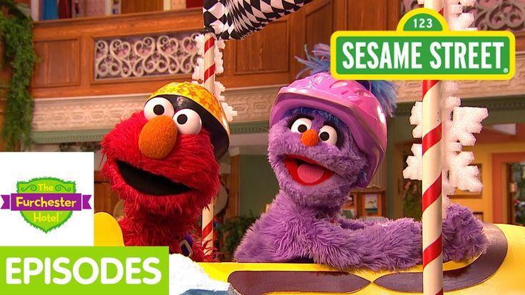 Furchester Hotel: Elmo Goes Sledding with Penguins (Full Episode)