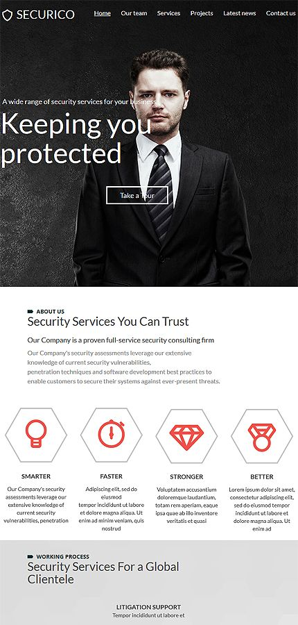 Security Most Popular website inspirations at your coffee break? Browse for more Responsive JavaScript Animated #templates! // Regular price: $69 // Sources available: .HTML,  .PSD #Security #Most Popular #Responsive JavaScript Animated