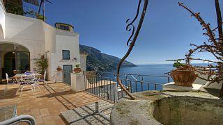 Wonderful Villa With Beautiful View, Near The Beach In Positano