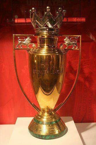 ARSENAL'S Invincible Golden Trophy . 2003/04