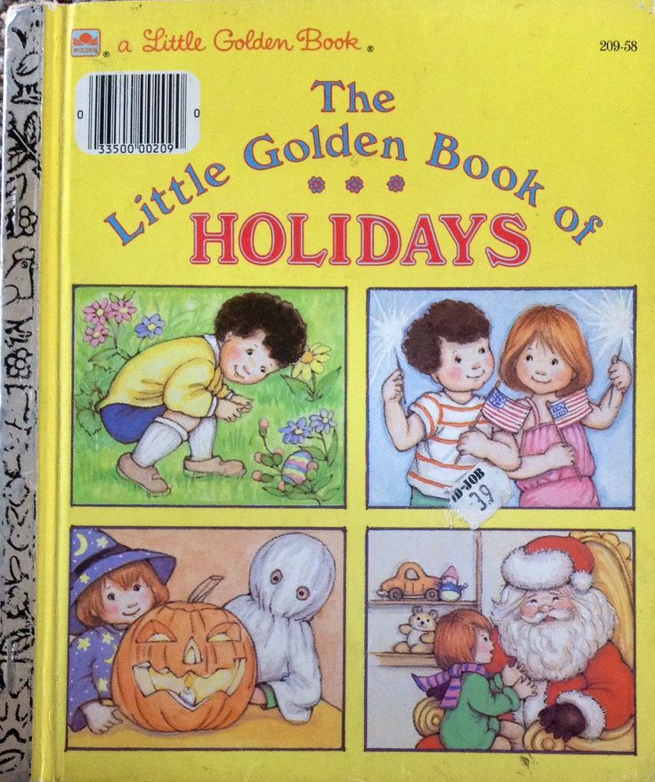 The Little Golden Book of Holidays by Lonestarblondie on Etsy