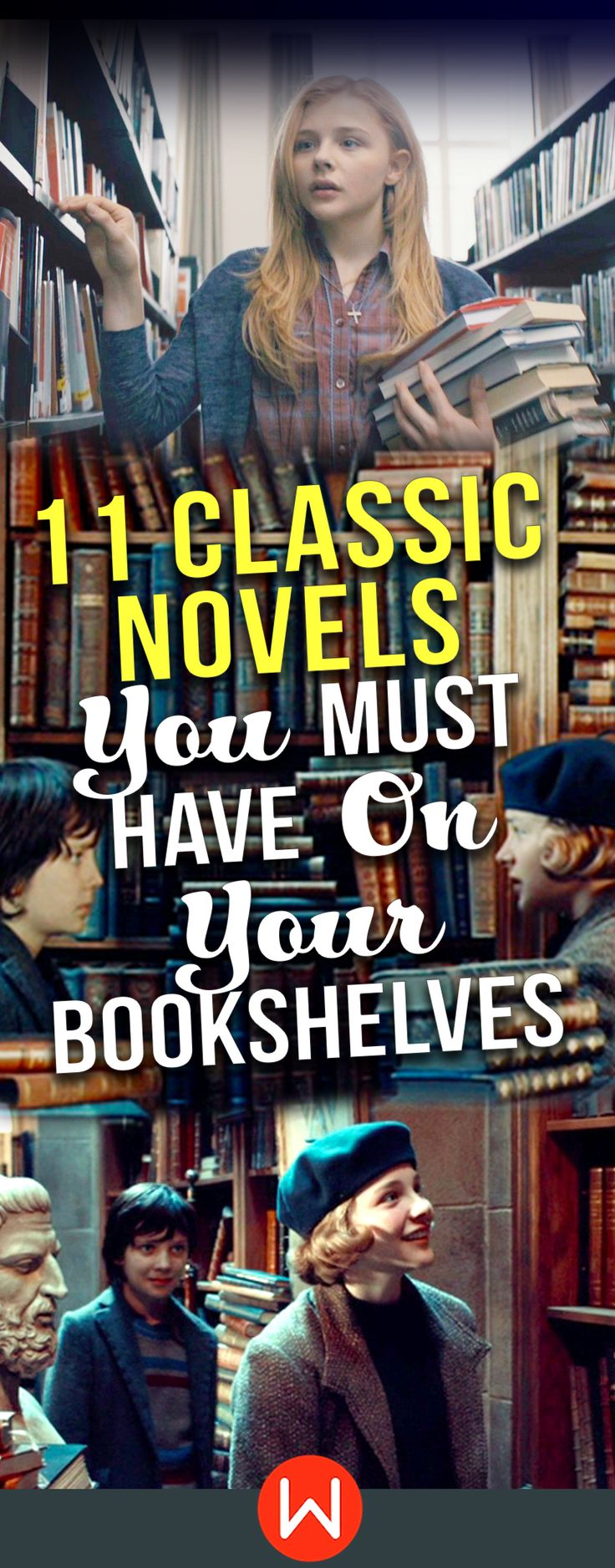 Classic Novels you MUST have on your bookshelves. Here's a list of must-have Novels of all times. Timeless Classic Novels and where to find them, including Brave New World by Aldous Huxley, The Alchemist by Paulo Coelho and True Grit by Charles Portis. Classic Novels inspiration.