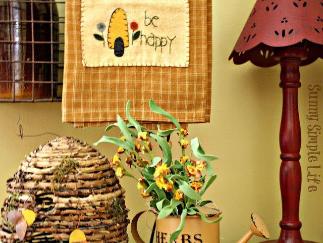 September Decor, Farmhouse decor - Sunny Simple Life