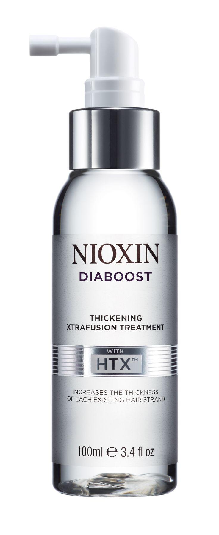 Kosmeettinen tuote, lisää jokaisen olemassa olevan hiuksen paksuutta käytettäessä päivittäin! #Hiustalojes #Nioxin #Hiusviagra #Diaboost #Thickening