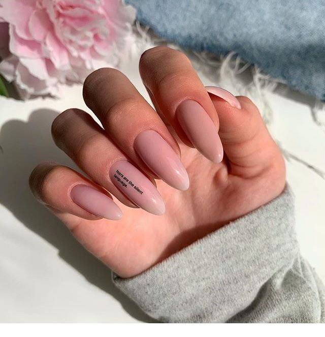 Pink Oval Medium Nails Chicladies Uk In 2020 Pretty Acrylic Nails Almond Acrylic Nails Wow Nails