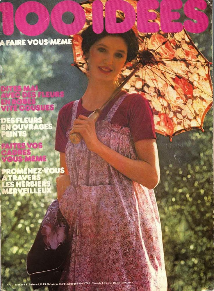 """Simple-to-sew 1970s dresses and robes. WITH PATTERNS Madame capucine -"""" Des robes vite cousues"""""""