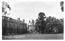 Oxford, Somerville College Partial view