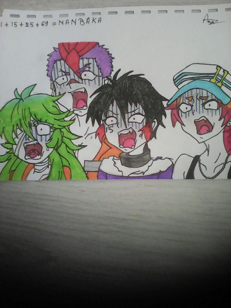 Uno,Jyugo,Rock,Niko (Nanbaka)