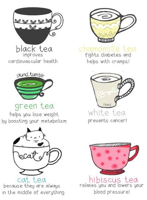 Inclua mais chá no seu dia a dia, é saudável e ajuda a emagrecer.